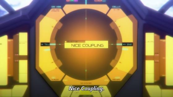 Nice coupling.